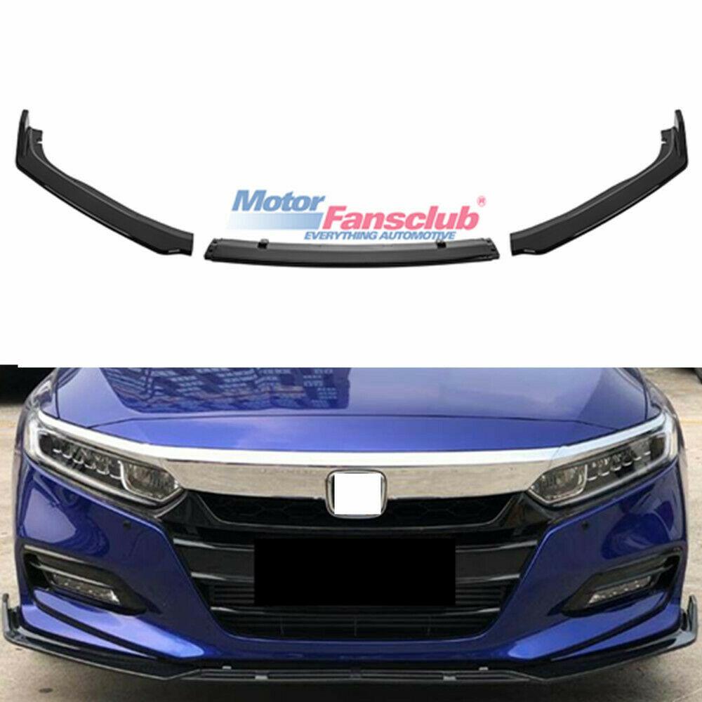 For Honda Accord 10TH GEN 2018-19 Sport JDM Glossy Blk