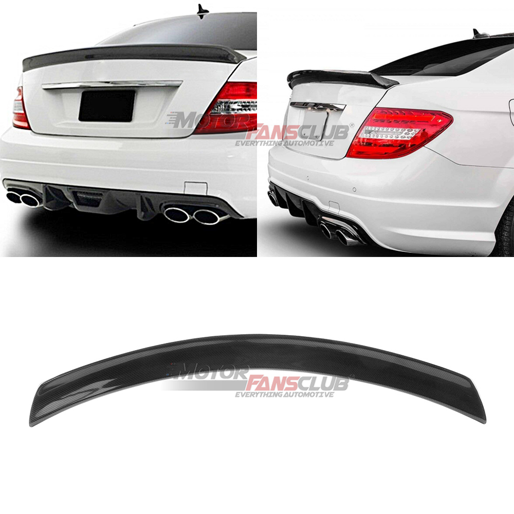 MotorFansClub Rear Spoiler Wing Fit for Compatible with Mercedes ...